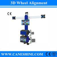 High Quality CE Vehicle Equipment 3D Wheel Alignment Price with LCD Screen Equipment Price for Garage(Automatic Lifting) CS-4067