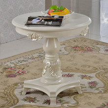 Lounge funiture round wood tea table modern coffee table