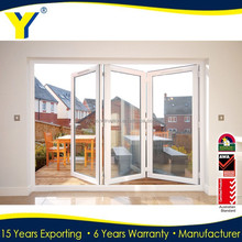 Thermal Break Folding Soundproof Door Pvc Window And Door Made In China YY doors