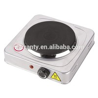 cast iron electric stove solid hot plate