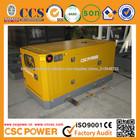 Baixo nível de ruído diesel gerador de 15KVA para uso doméstico