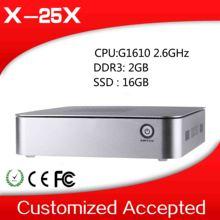 Mini PC Intel G1610 Dual Core 2.6Ghz 2G RAM 16G SSD Window 8.1 OS Computer Thin Client Desktop Computer
