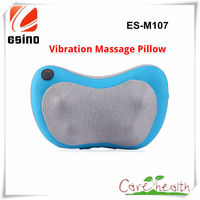 New Products 2015 Innovative Product for Car Use Massage Pillow with PU Leather