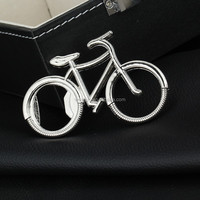 700pcs Bicycle Metal Bottle Opener Can opener with Keyring Keychain Promotional Gift DHL Freeshipping