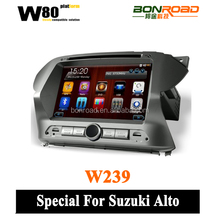 2 Din Digital Touch Screen Car DVD With Radio Bluetooth Mirror-link GPS Navigation MP3/MP4 Player for Suzuki Alto
