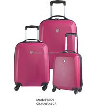 3pcs Women Cheap sky Travel Luggage ,travel case