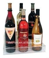 Hot sale acrylic holder for wine/wine display holder/bottle holder