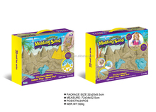 500g beige color sand With Tools DIY Space Sand Magical Modeling Mood beach Sand toy