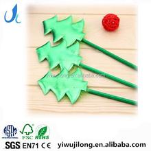 novel plastic lovely christmas tree design ball point pen good for promotion