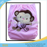 China Wholesale All In One Size Sleepy Disposable Embroidery PUL Baby Diaper