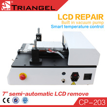 Front Glass Repair Fast delivery Vacuum Semi Automatic LCD Separator Machine with CE certification for iPhone Samsung