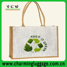 wholesale plain cheap jute tote bags