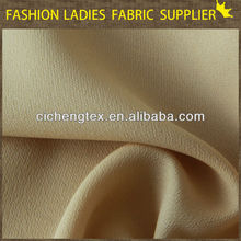 High quality soft hand feeling dress fabric, 100D chiffon fabric, crepe chiffon fabric