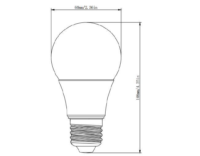 9w led bulb ul certified 360 degree led light bulb  u0026 277v a19 e26 led bulb