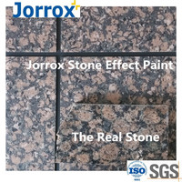Water-born granite acrylic coating for wall decoration
