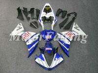 for yamaha yzf 2009 r1 2010 r1 kit 2010 r1 fairing kit 09 r1 10 yzf 1 10 r1 09 r1 motorcycle R1 bodykit 09-10 blue white yzf 1