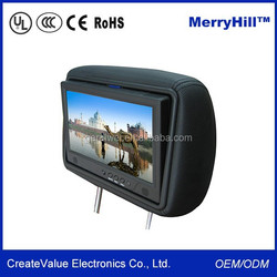 Headrest Placement 7 Inch 8 Inch 9 Inch TFT Car LCD Monitor