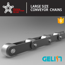 Double pitch conveyor chain with P large roller (M series )