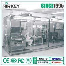 class 100 easy installation dust-free clean booth with full set series
