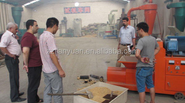 Best quality new biomass wood sawdust briquette machine for BBQ