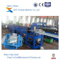 Shaped U Purlin Aluminum Cold Steel Profile Roll Forming Machine