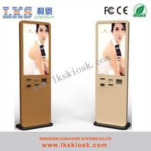 Stand Airport Self Service Indoor Custom Information Kiosk