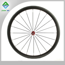 bmx parts 38mm carbon clincher wheel with 28 hole 32hole matte glossy 3k 12k ud