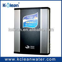 Large water yield 4 stages non-electric portable carbon filter water purifier