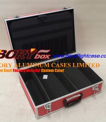 China factory offer wholesale Bory aluminum dvd case cd case