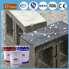 Waterproof paint super hydrophobic self cleaning coating paint for concrete building