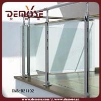 tempered glass deck /balcony railing design