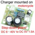 Regulador de voltaje del módulo con entrada usb dc 6v ~40v a la salida de dc 5v 1.5a mc34063