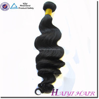 "20"" Hot selling Discount price Natural colour 100% Indian Virgin Hair bulk"