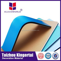 Alucoworld Hot sale good quality aluminum galvanized steel fence panels decorative sheet metal doors panels aluminium composite