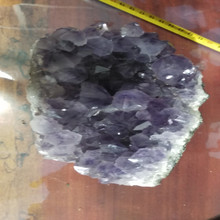 Lembranças natural de cristal de ametista uva para decoração de casamento presentes de negócios