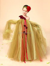 2015 Flower children baby girl birthday dresses frock in summer party dresses for 8 years old girls frock designer dress