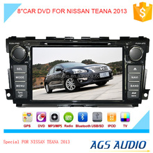 touch screen car dvd player for NISSAN TEANA2013 with gps/mp3/radio navigation system