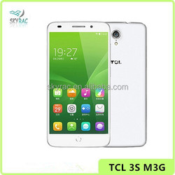 2015 New TCL 3S M3G 4G LTE Qualcomm 615 Octa Core 2GB RAM 16GB ROM 5 Inch IPS 192*1080 FHD Screen 13.0MP Smart Mobile Phone