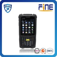barcode scanner rugged RFID PDA 3G wince/android OS 4.0 industry