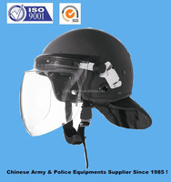 Anti riot police PC helmet