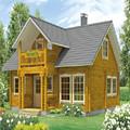 Estilo country modular pré-fabricada casa de madeira grandes feitos na china