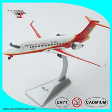 Diecast Airplane Collectible ARJ21 aerobus model, scale models airliner