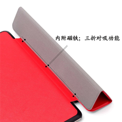 new arrival Slim Magnetic book style pu leather cover for ipad pro