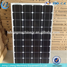 solar system with 500W Monocrystalline solar panels For Home Use