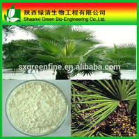 100% Natural Saw Palmetto Fruit Extract Total Fatty Acids 45%