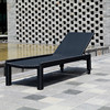 BBJ Synthetic rattan sun bed, nice furniture for resort, hotel, restaurant, projects