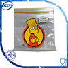 Plastic resealable bags for food packing like bakery