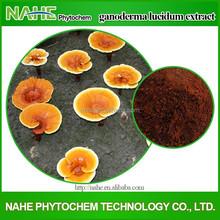 Chinese herb medicine 100% natural ganoderma lucidum extract, reishi mushroom lingzhi extract