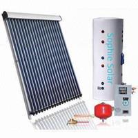 Active solar thermal pressurized heating Split system