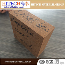 competitive quality zibo hitech Spinel Refractory Brick for AOD furnace